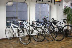 自転車保管スペース
