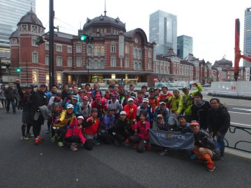 山手線一周ラン・2019冬 @ 東京駅・丸の内中央口