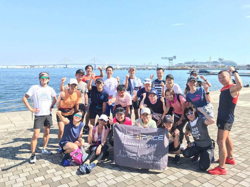 横浜マラソン試走会