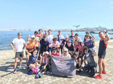 横浜マラソン2019試走会【後半】 @ シーサイドライン南部市場駅