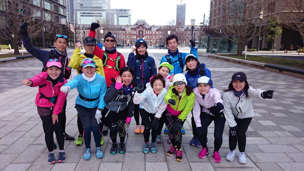 東京マラソン2020コース試走会
