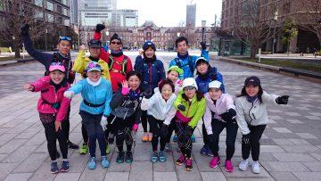 東京マラソン2020コース試走会 @ 地下鉄神保町駅